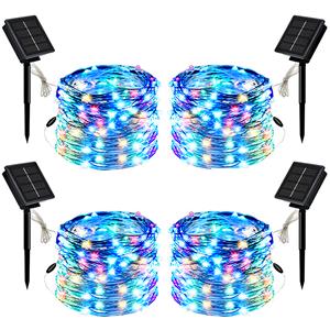Sumkyle Waterproof LED Outdoor Solar String Lights