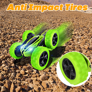 Anti-skid and anti-collision tires, you can drive on any terrain.