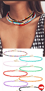 Multi Strands Necklaces