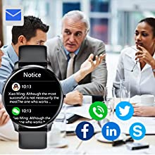 smart watch with text and call