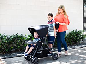 stand platform sit and stand stroller caboose UL