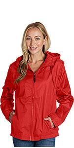 Polyester Shell Mesh Lining Water Resistant Water Repellent Windbreaker women ladies sweaters