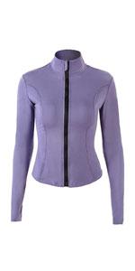 Full zip running jacket
