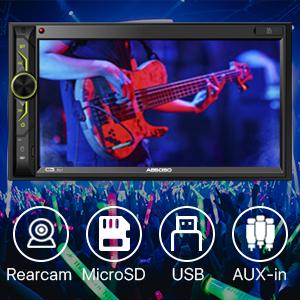 car stereo with backup camera