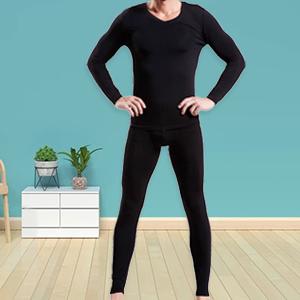 Mucwer Black thermal underwear