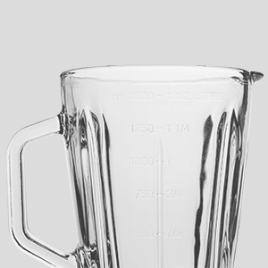 Large 1500ML Glass Pitcher Container