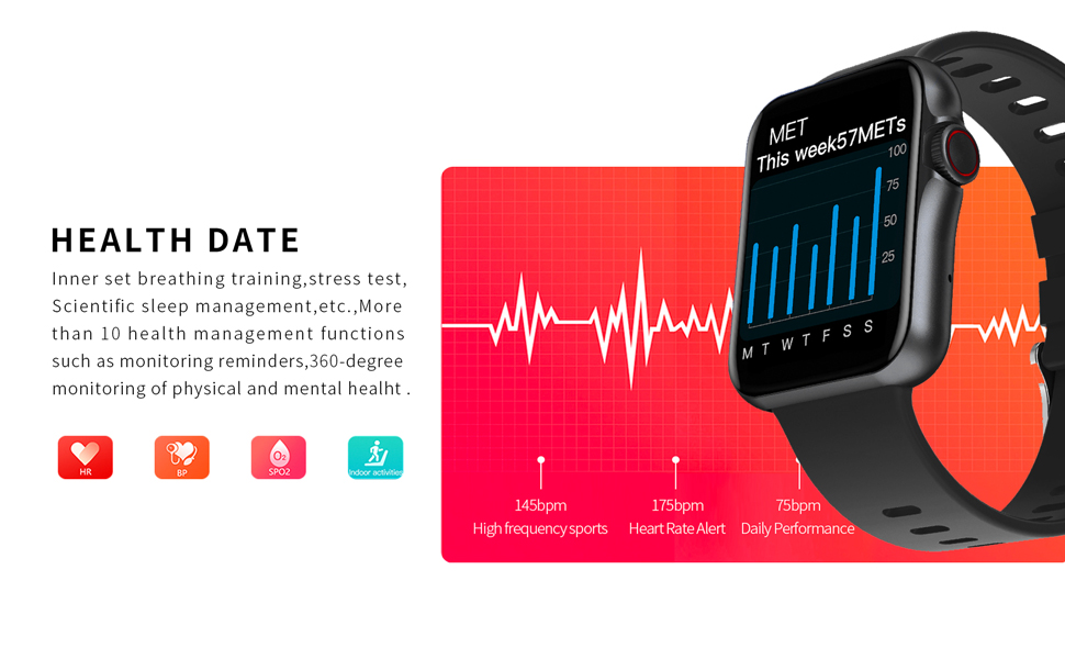 Fitness tracking watch