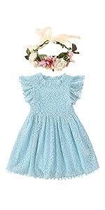 Tutu Dress Graceful Lace Pom Pom Dress