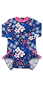 Baby Girls Onepiece Swimsuit