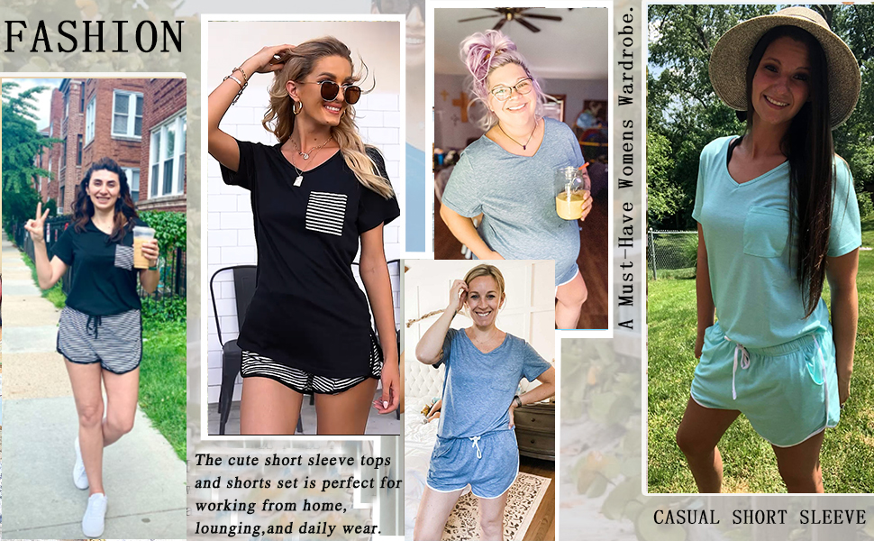 summer shorts outfits for women 2021