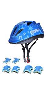 Kids Helmet Set Blue