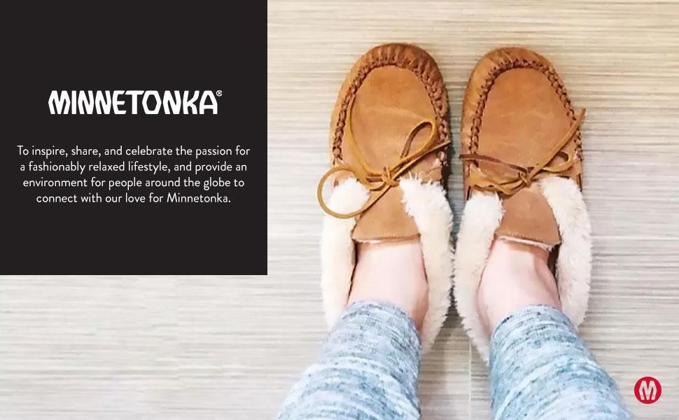 moccasin modern on shoe size slip slipon slipper sole suede teen warm wide width wool women