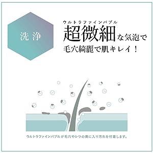 シャワーヘッド ボリーナ ニンファ プラス ウルトラファインバブル マイクロバブル