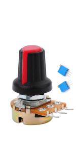125Pcs 1K-100K Ohm Potentiometer with 50 pcs Variable Resistor