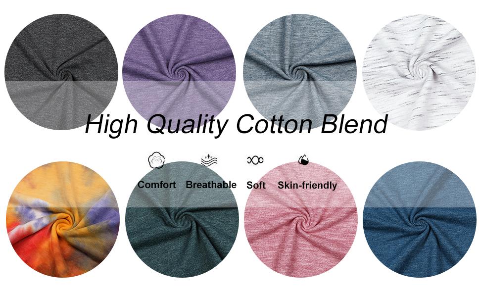 cotton blended