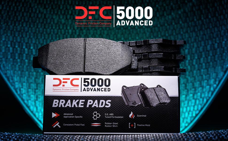 DFC 5000 Advanced Brake Pads
