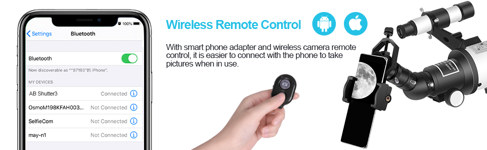 Blutooth Remote