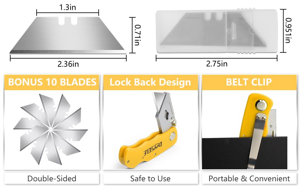 box cutter blades
