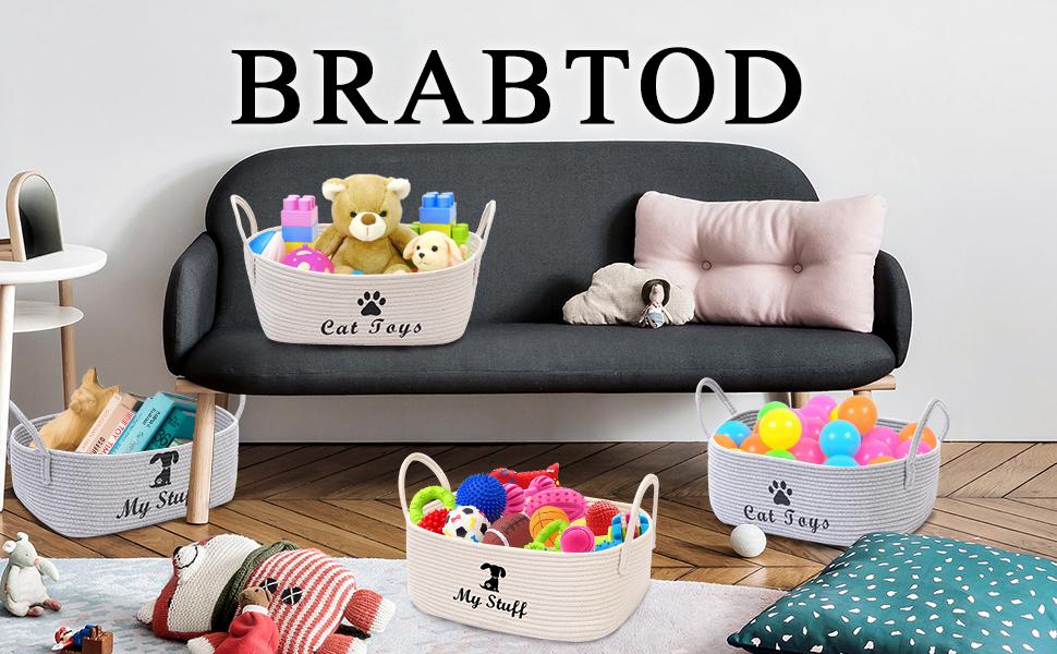 dog container organizer dog toy basket dog toy bin dog toy holder