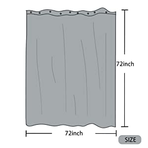 72 inch shower curtains