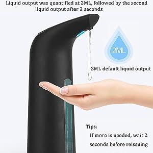 JW1805B black drop dispenser