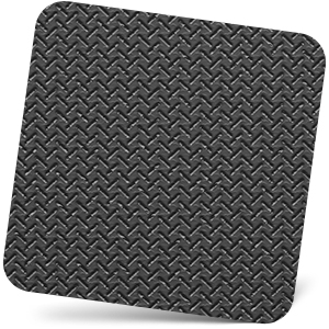 Non-slip rubber bottom of wrist pad for keyboard and mouse