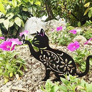 Cat Silhouette Ornaments 2