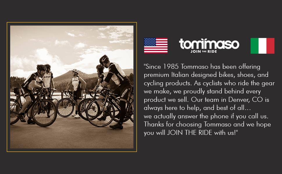 Tommaso Bikes brand story 1985 Italy