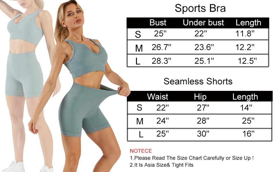 Workout Outfits Size
