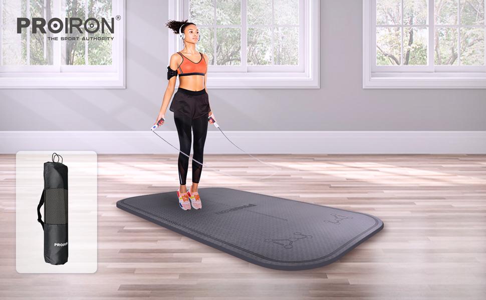 Springmat Yogamat Trainingsmat Fitnessmat TPE mat heren dames kinderen Gym en outdoor Yoga