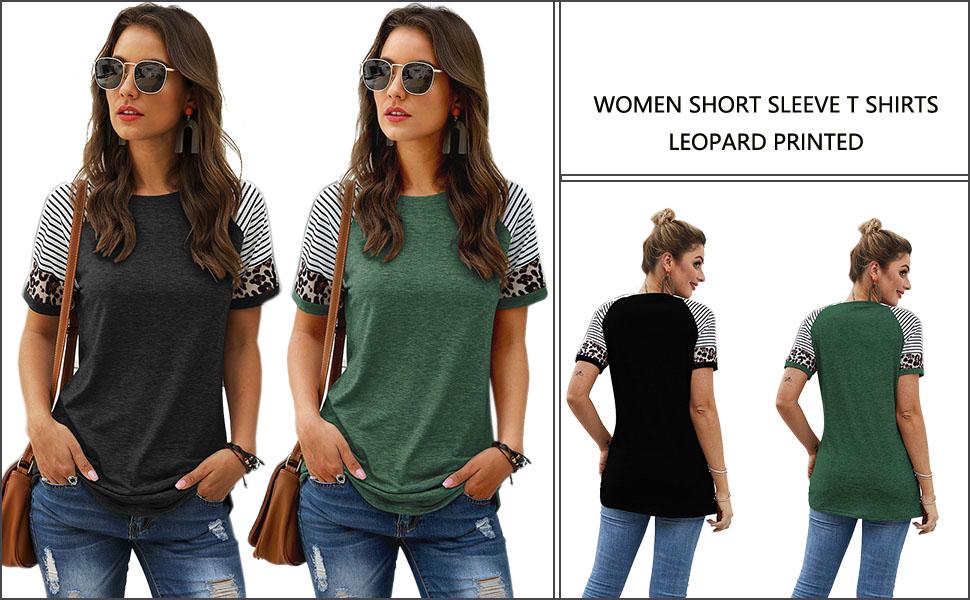 women short sleeve t shirts
