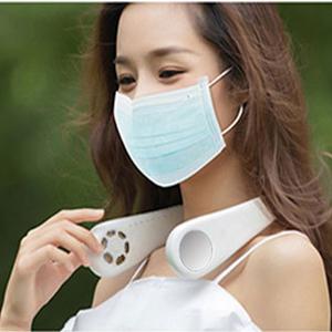 Portable Neck Fan,Personal Fan Bladeless Fan,USB Rechargeable Cooling