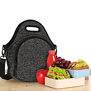 Black Lunch bags