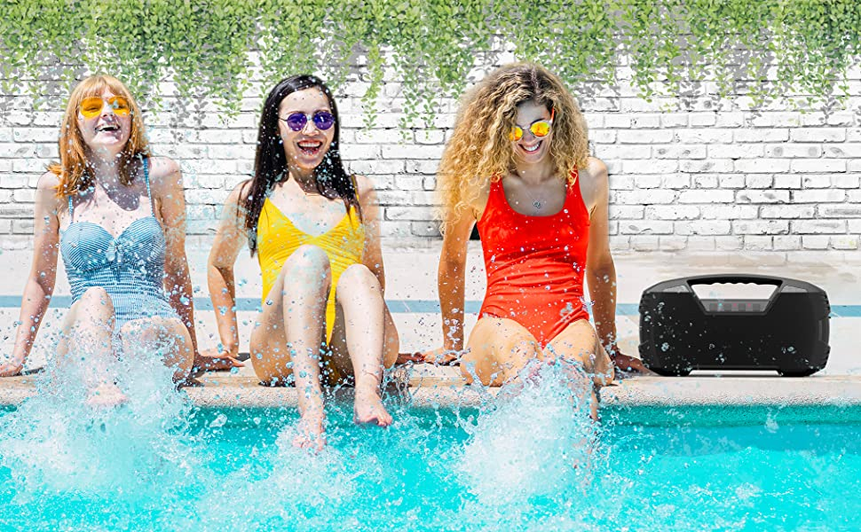 Waterproof bluetooth speaker pool speaker