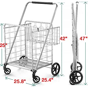 portable shopping cart