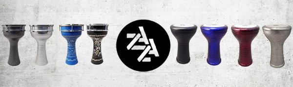 Zaza Percussion Logo darbuka drums doumbek drum