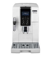 アドバンスモデル デロンギ コンパクト全自動コーヒーメーカー ディナミカ ミルク泡立て手動 ホワイト