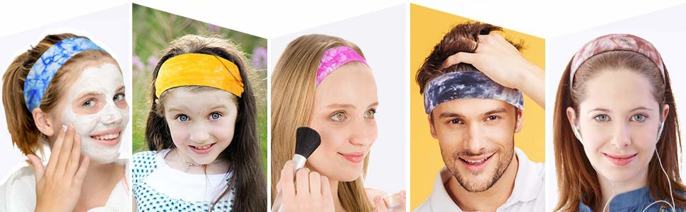 The headband is suitable for various scenarios