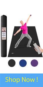 shoes friendly yoga mat