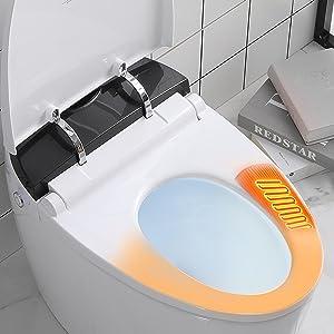 Power-saving smart toilet