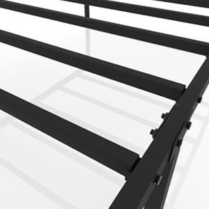 bedframes platform frame box spring with storage metal size twins full no needed headboard included