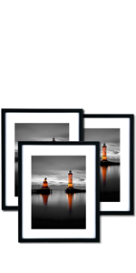 16x20 Picture Frames Set of 3