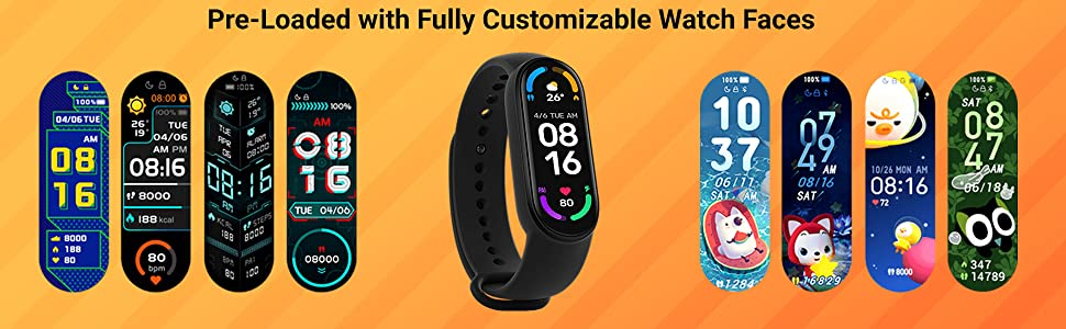 Fully customizable watch faces