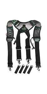 Gel Tool Belt Suspenders