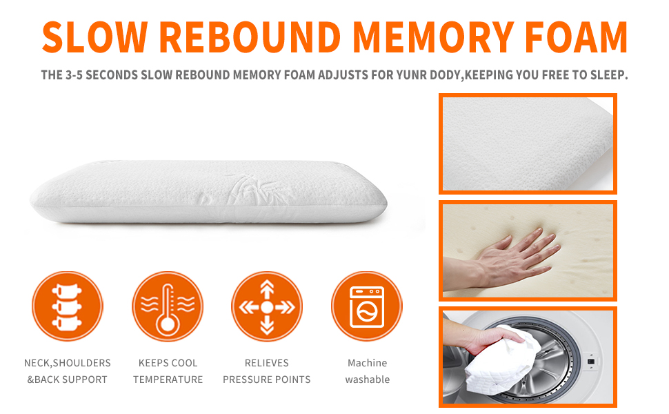 The BLISSBURY Stomach Sleeping Pillow is for those of us that sleep on our front or our back.