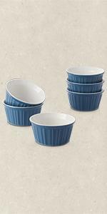 8-Ounce Porcelain Ramekins