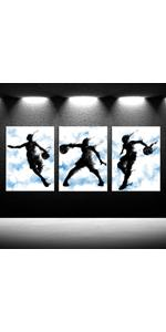 man cave poster,basketball decorations for boys room,sports pictures for wall