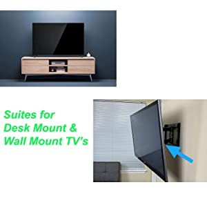 suites for desk mount and wall mount