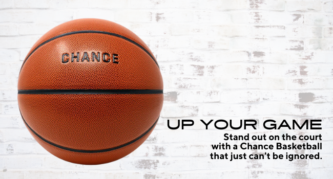 stand out on the court with a chance basketball that just cant be ignored