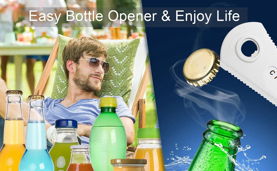 Easy Bottle Opener amp; Enjoy Life